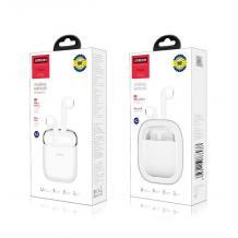 Оригинални безжични слушалки Joyroom Wireless Earbuds JR-TO4 - бели