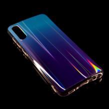 Силиконов калъф / гръб / TPU Rainbow за Huawei P30 Lite - преливащ / синьо