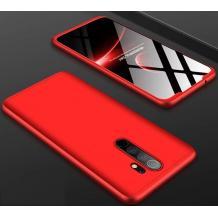 Твърд гръб Magic Skin 360° FULL за Xiaomi Redmi Note 8 Pro - червен