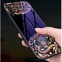 Луксозен стъклен твърд гръб за Xiaomi Mi A3 - дракон