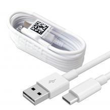 Оригинален USB кабел Type-C за Huawei P30 Pro - бял