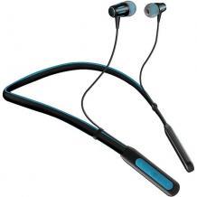 Стерео Bluetooth / Wireless Neckband слушалки FB800 /sport/ - черни със синьо