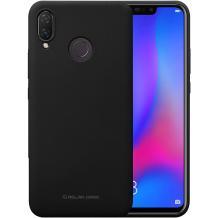 Силиконов калъф / гръб / TPU MOLAN CANO Jelly Case за Huawei P30 Lite - черен / мат