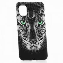 Силиконов калъф / гръб / TPU LUXO за Samsung Galaxy A31 - леопард