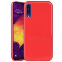 Луксозен силиконов калъф / гръб / TPU NORDIC Jelly Case за Samsung Galaxy Note 10 N975 - червен