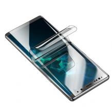3D full cover Hydrogel screen protector за Samsung Galaxy Note 10 Plus N975 / Извит гъвкав скрийн протектор Samsung Galaxy Note 10 Plus N975 - прозрачен