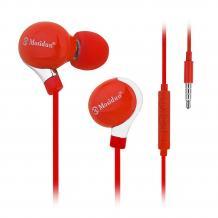 Стерео слушалки Mosidun Classic 3.5mm за смартфон - червени