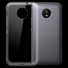 Ултра тънък силиконов калъф / гръб / TPU Ultra Thin за Motorola Moto E⁴ Plus - прозрачен