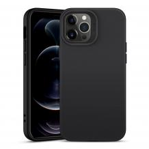 Луксозен силиконов калъф / гръб / Nano TPU за Apple iPhone 12 Mini 5.4'' - Черен