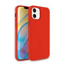 Луксозен силиконов калъф / гръб / Nano TPU за Apple iPhone 12 Mini 5.4'' - Червен