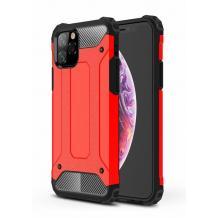 Силиконов гръб TPU Spigen Hybrid с твърда част за Apple iPhone 11 6.1'' - червен