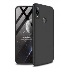 Твърд гръб Magic Skin 360° FULL за Xiaomi Redmi 7 - черен