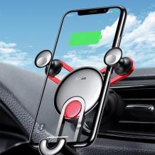 Универсална стойка за кола Baseus с Type C кабел за зареждане / Baseus Yy Phone Charging Type C SUTYY-01 - черна