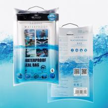 Универсален водоустойчив калъф Waterproof WK-Q01 за мобилен телефон (S) - черен