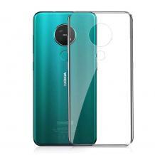 Ултра тънък силиконов калъф / гръб / TPU Ultra Thin за Nokia 7.2 - прозрачен