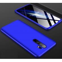 Твърд гръб Magic Skin 360° FULL за Xiaomi Redmi Note 8 Pro - син