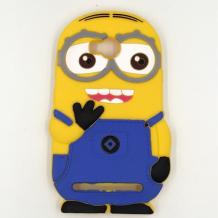 Силиконов калъф / гръб / TPU 3D за Huawei Y3 II / Y3 2 - Minions Despicable me / Миньони Аз проклетникът