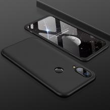 Твърд гръб Magic Skin 360° FULL за Huawei Y7 2019 - черен