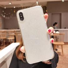 Силиконов калъф / гръб / TPU Bling за Huawei P20 Lite - прозрачен / брокат