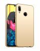 Силиконов калъф / гръб / TPU за Motorola One Action - златист / мат